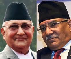 नेपाल में सात मार्च को होगा केपी शर्मा ओली और प्रचंड के बीच शक्ति प्रदर्शन