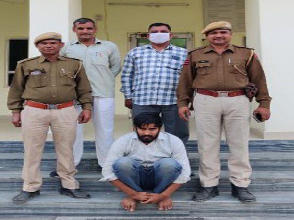 राजस्थान/सीकर: चोरी के आरोप में पूर्व छात्रसंघ महासचिव गिरफ्तार