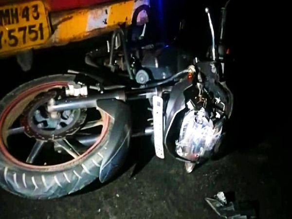 राजस्थान: उदयपुर में भीषण सड़क हादसा, ट्रक ने बाइक को चपेट में लेकर 10 फीट तक घसीटा, दो की मौत