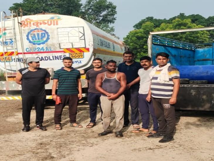 उदयपुर: 40 लाख की कीमत का केमिकल पकड़ा, आरोपी हिरासत में